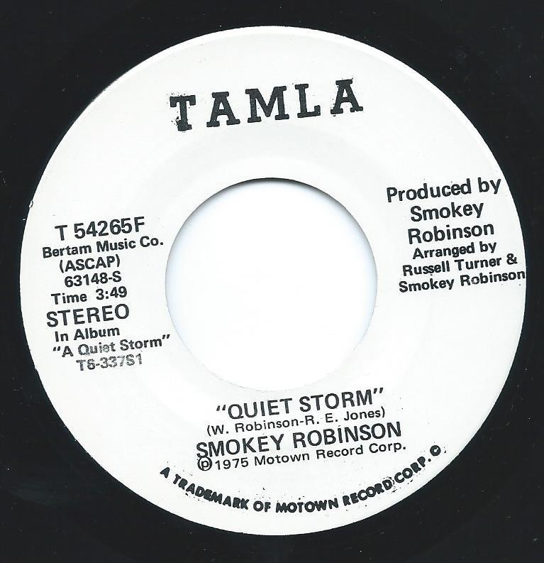 SMOKEY ROBINSON / QUIET STORM (7