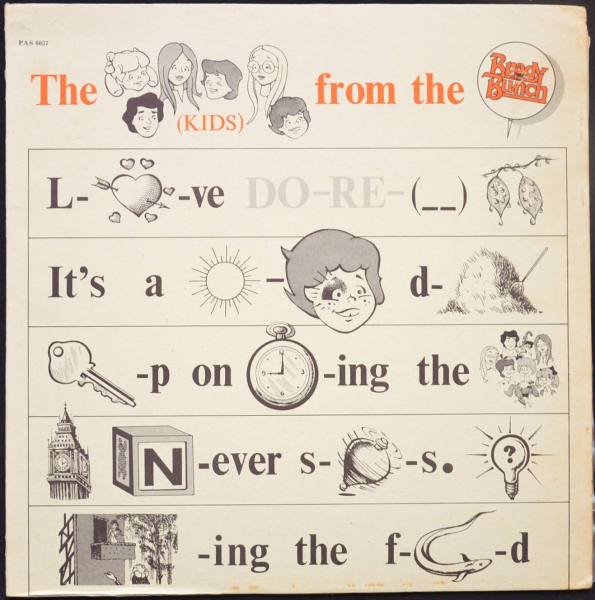 THE KIDS FROM THE BRADY BUNCH / THE KIDS FROM THE BRADY BUNCH (LP)