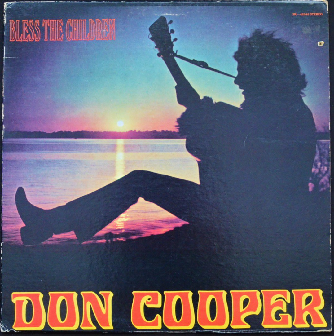 DON COOPER ‎/ BLESS THE CHILDREN (LP)