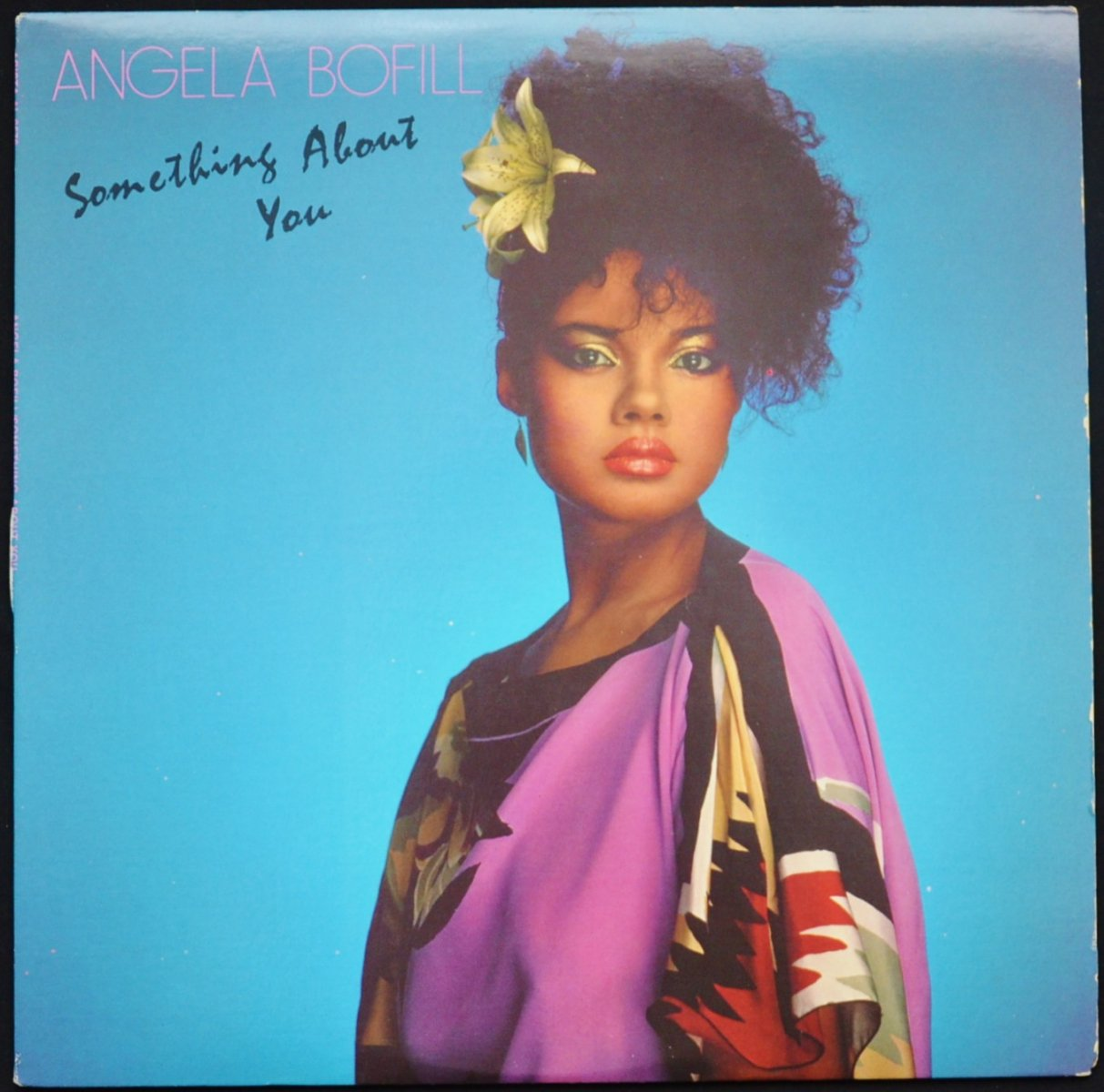 ANGELA BOFILL ‎/ SOMETHING ABOUT YOU (LP)