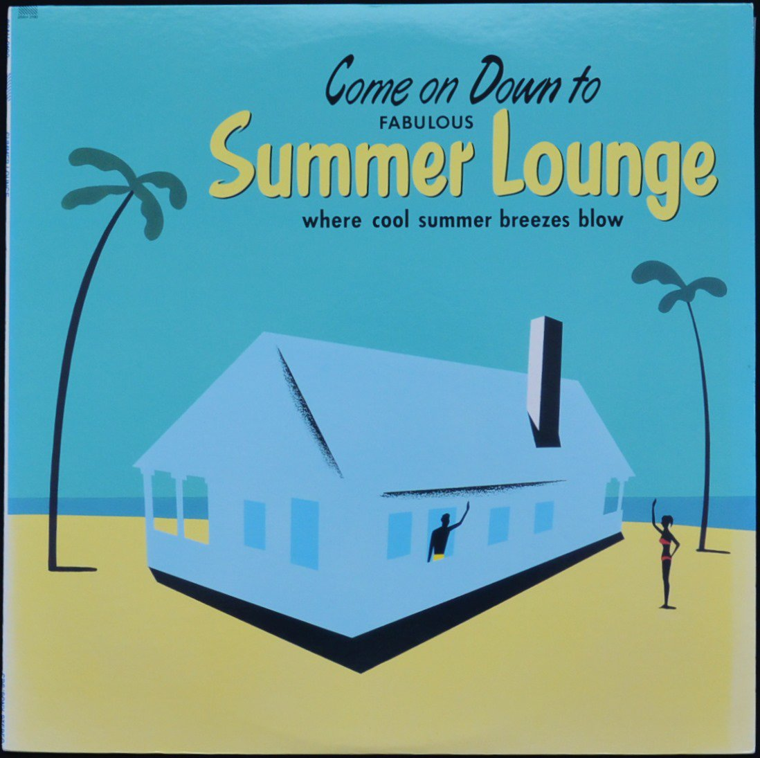 V.A. (POPS ALL STARS,プリンセス・プリンセス...) / HOLIDAY COMPANY / 世界でいちばん熱い夏 (SUMMER LOUNGE) (LP)