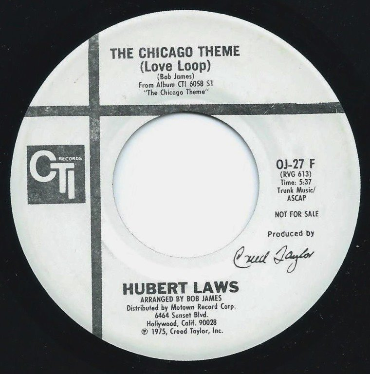 HUBERT LAWS ‎/ THE CHICAGO THEME (LOVE LOOP) (7