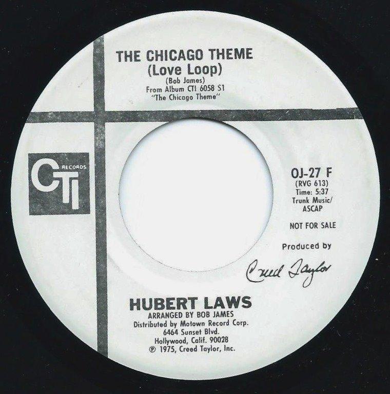 HUBERT LAWS / THE CHICAGO THEME (LOVE LOOP) (7
