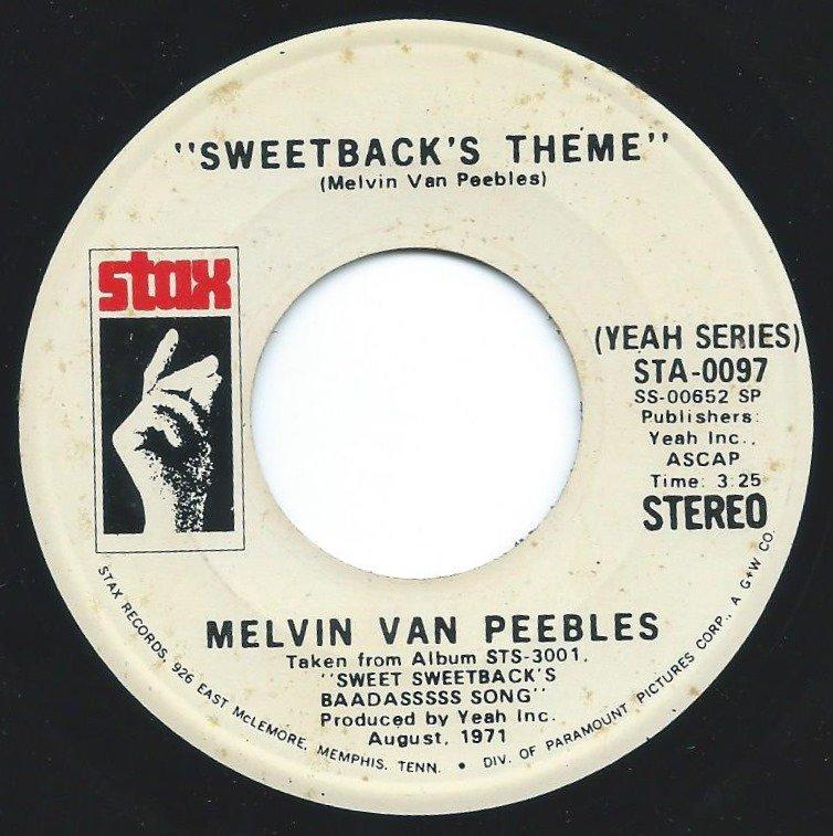 MELVIN VAN PEEBLES / SWEETBACK'S THEME (7
