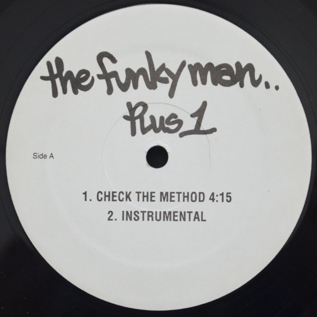THE FUNKY MAN ‎(LORD FINESSE) / CHECK THE METHOD / DO YOUR THING (FEAT.DIAMOND D) (12