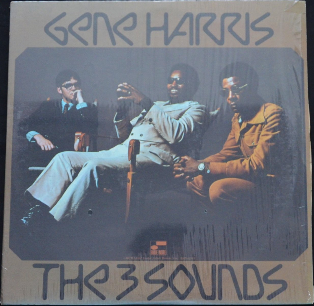 GENE HARRIS & THE 3 SOUNDS / GENE HARRIS THE 3 SOUNDS (LP)