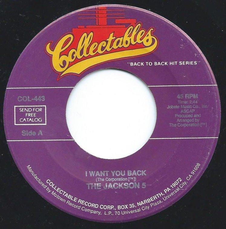 THE JACKSON 5 / I WANT YOU BACK / ABC (7