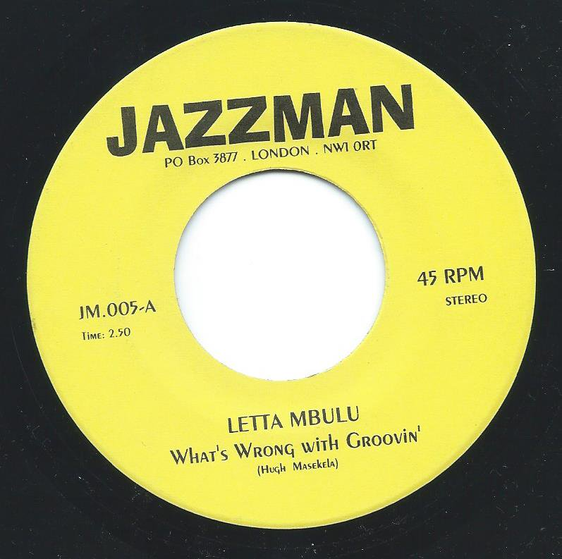 LETTA MBULU / LOREZ ALEXANDRIA / WHAT'S WRONG WITH GROOVIN' / SEND IN THE CLOWNS (7