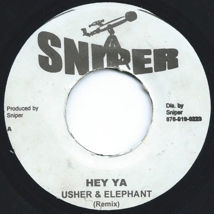 USHER & ELEPHANT MAN / LIL' KIM ‎/ HEY YA (REMIX) / THE JUMP OFF (7