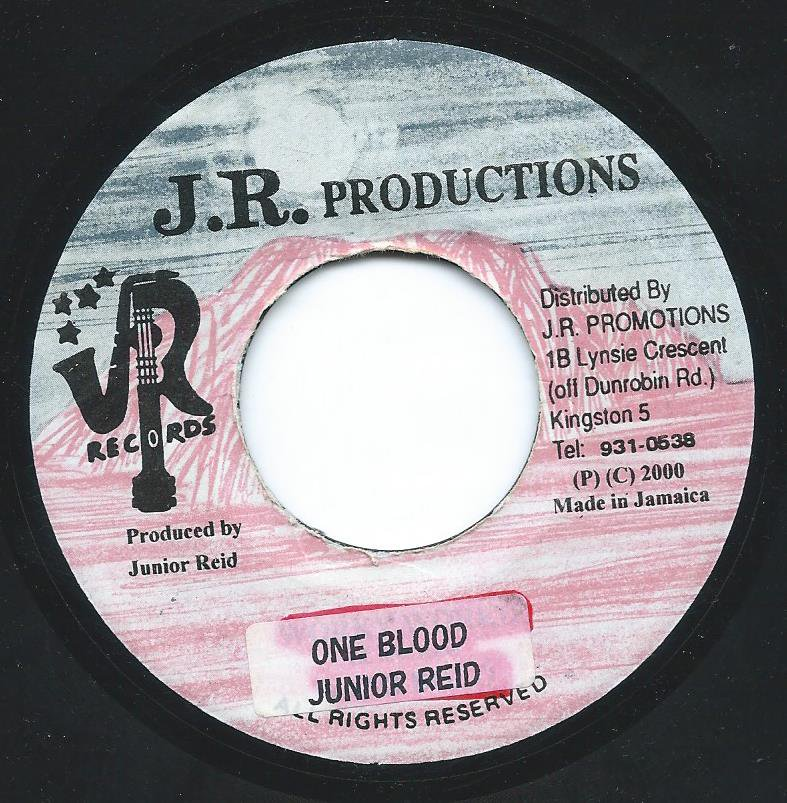 JUNIOR REID / ONE BLOOD (7