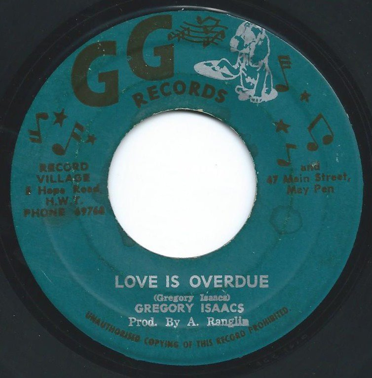 GREGORY ISAACS ‎/ LOVE IS OVERDUE (7