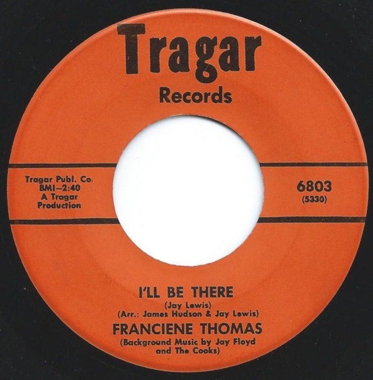 FRANCIENE THOMAS / I'LL BE THERE / TO BEAUTIFUL TO BE GOOD (7