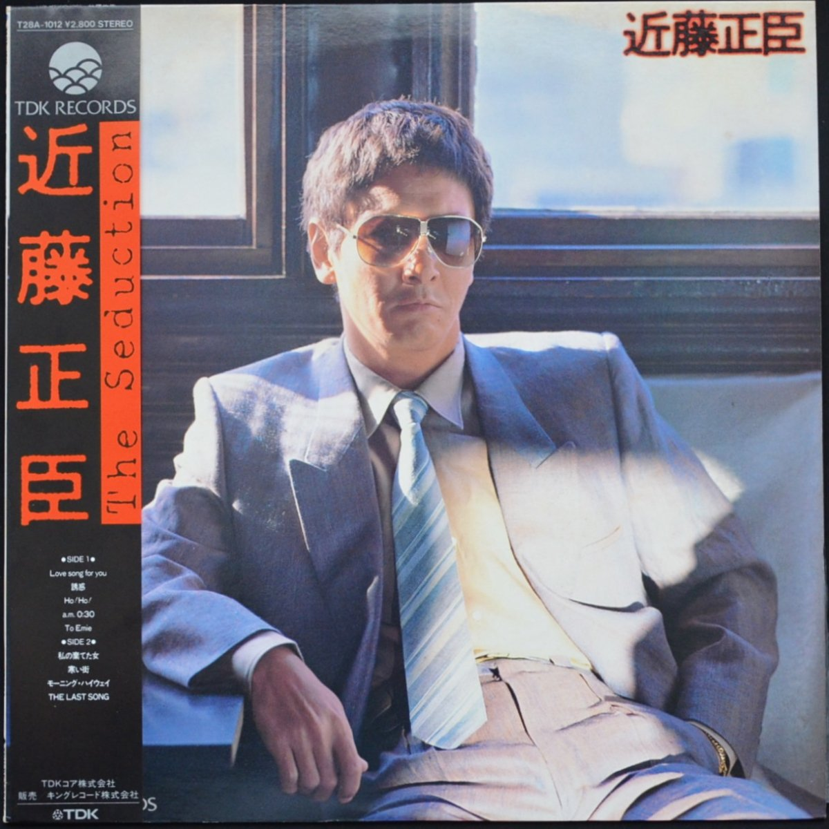 近藤正臣 MASAOMI KONDO / THE SEDUCTION (LP)