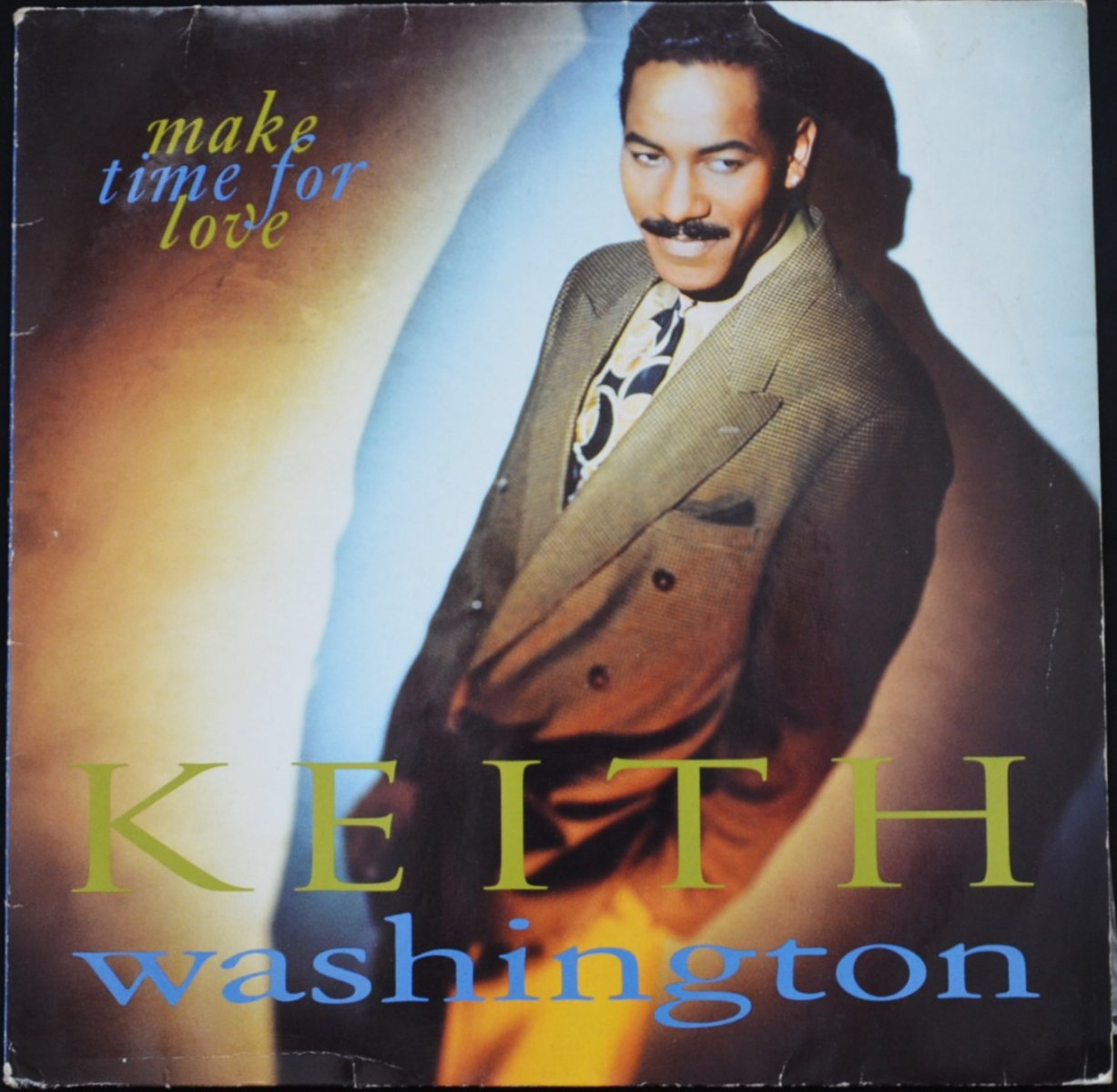 KEITH WASHINGTON ‎/ MAKE TIME FOR LOVE (1LP)