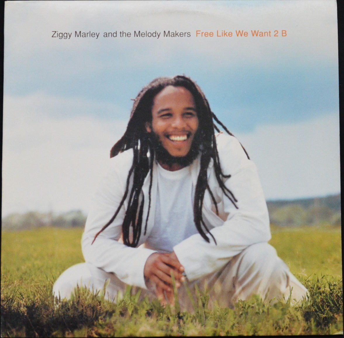 ZIGGY MARLEY AND THE MELODY MAKERS ‎/ FREE LIKE WE WANT 2 B (1LP)