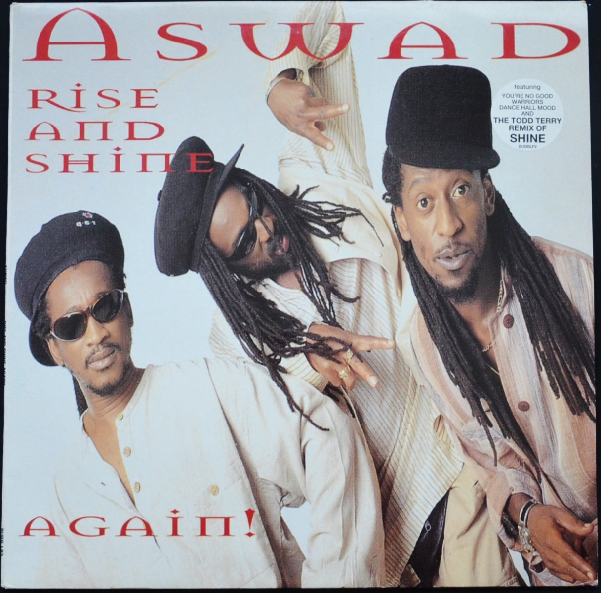 ASWAD ‎/ RISE AND SHINE AGAIN! (2LP)