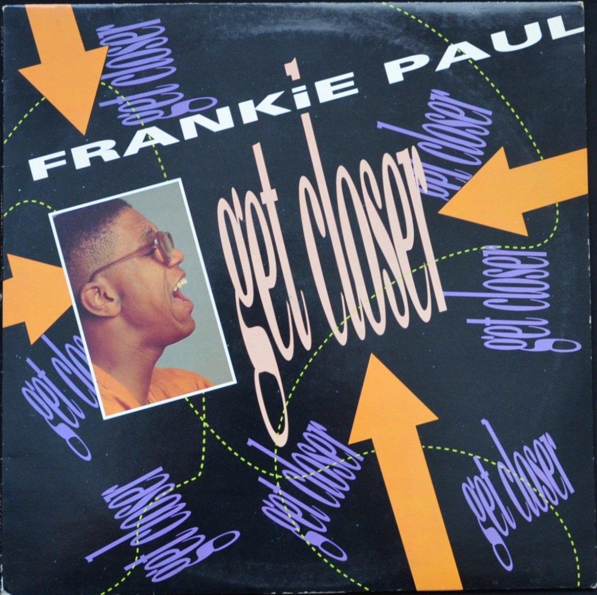 FRANKIE PAUL / GET CLOSER (1LP)