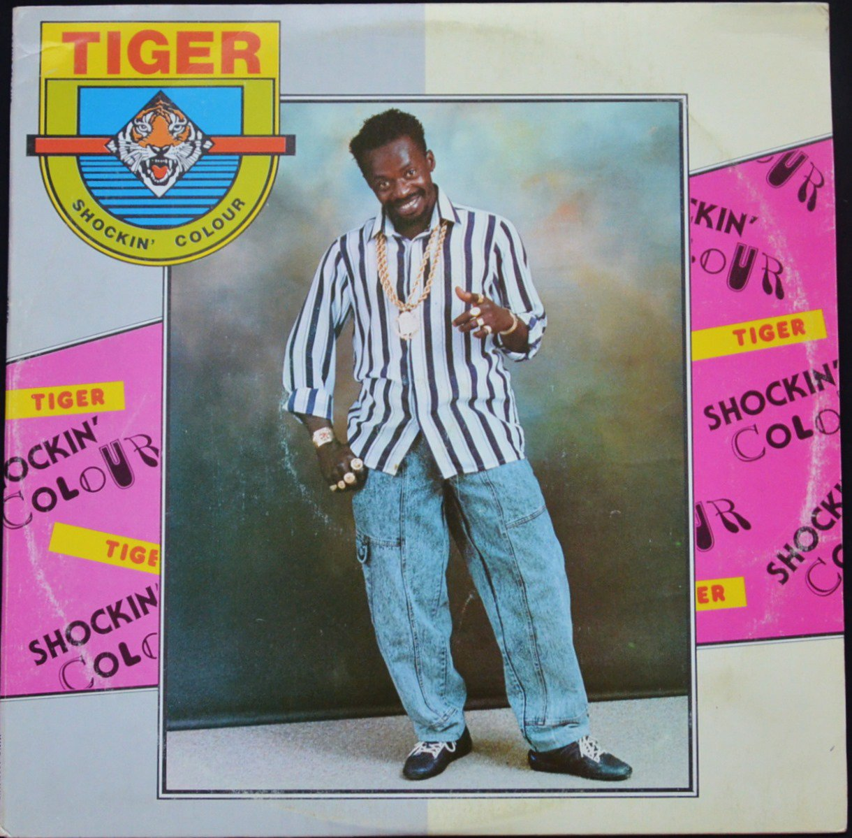 TIGER ‎/ SHOCKIN' COLOUR (1LP)