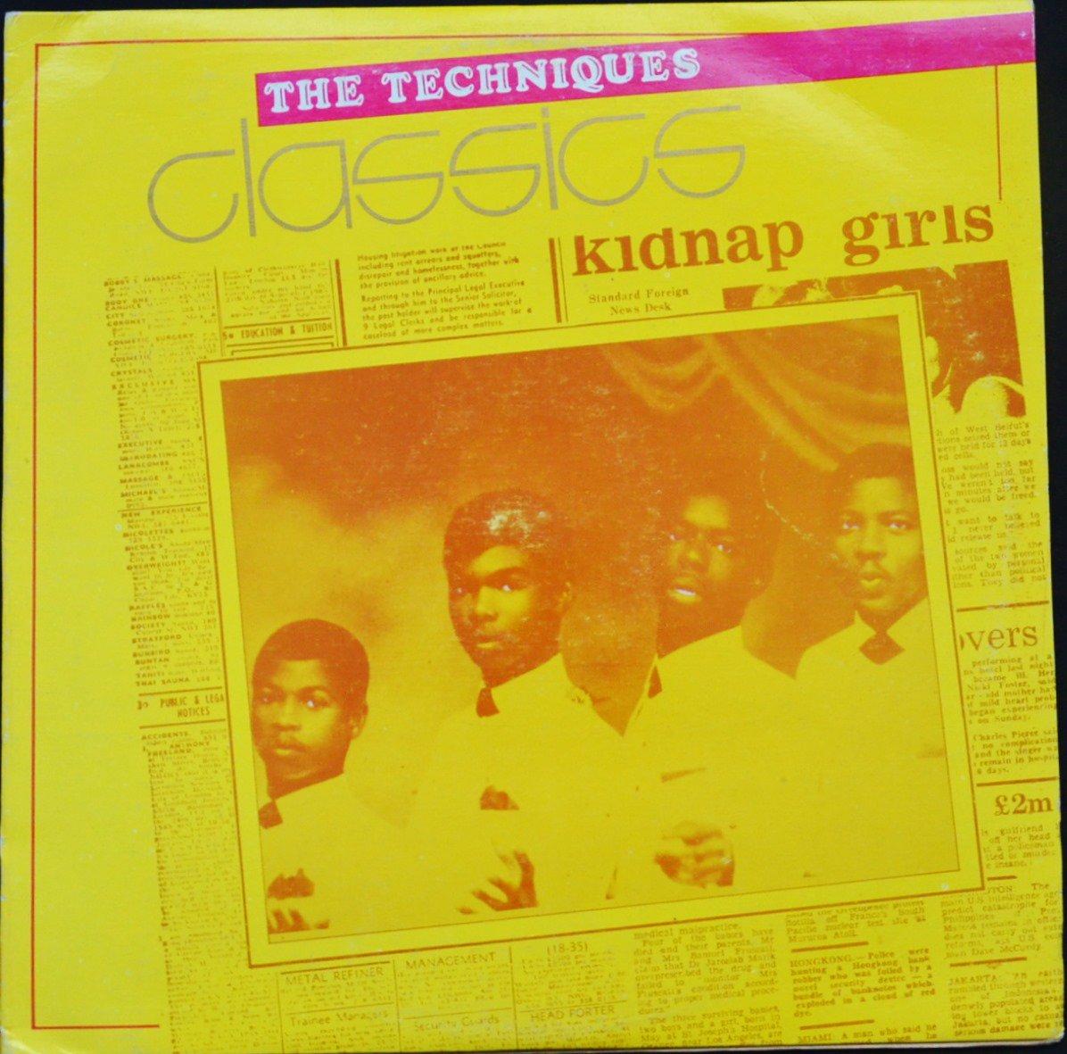THE TECHNIQUES / CLASSICS (LP)