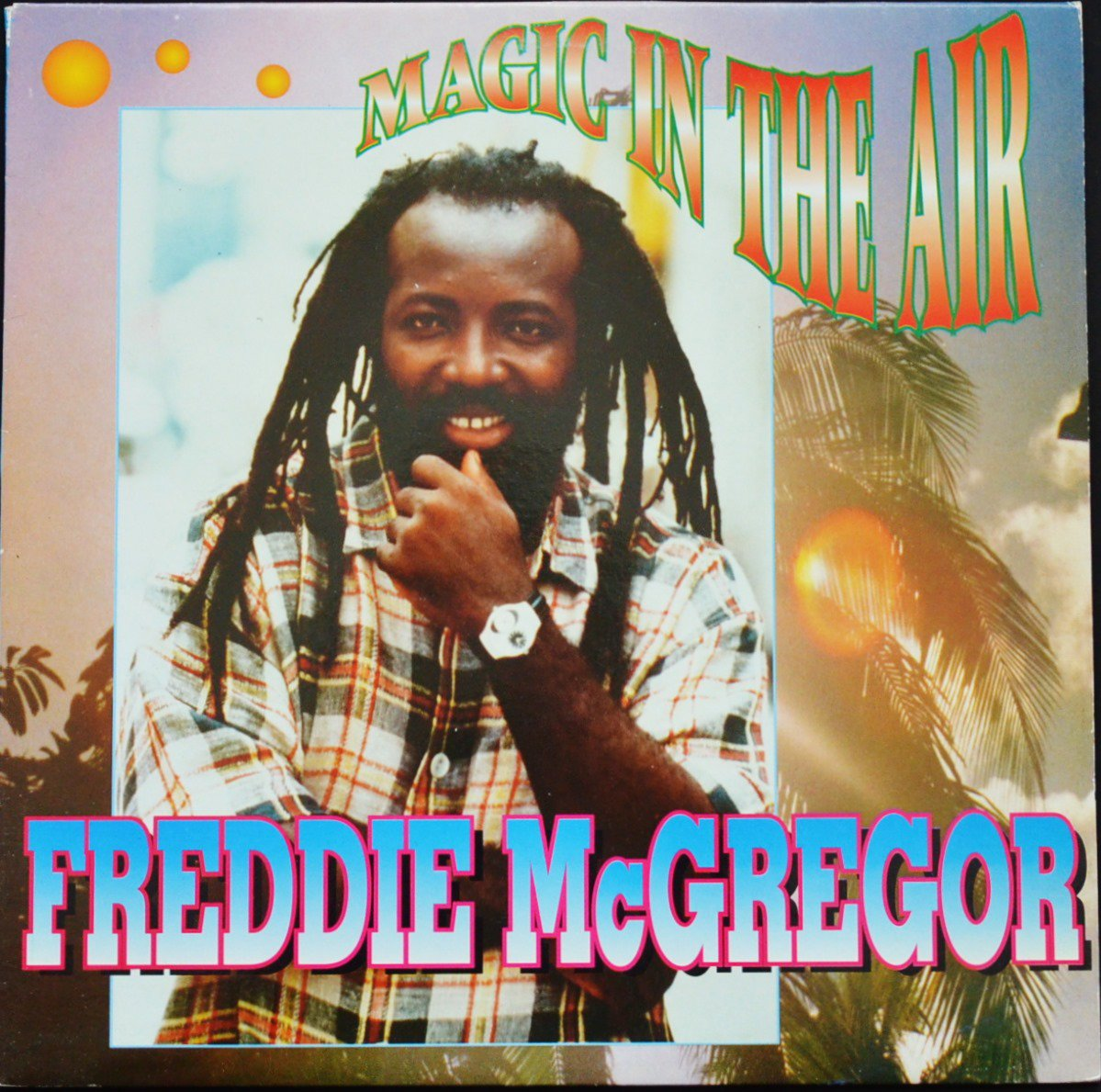 FREDDIE MCGREGOR / MAGIC IN THE AIR (1LP)