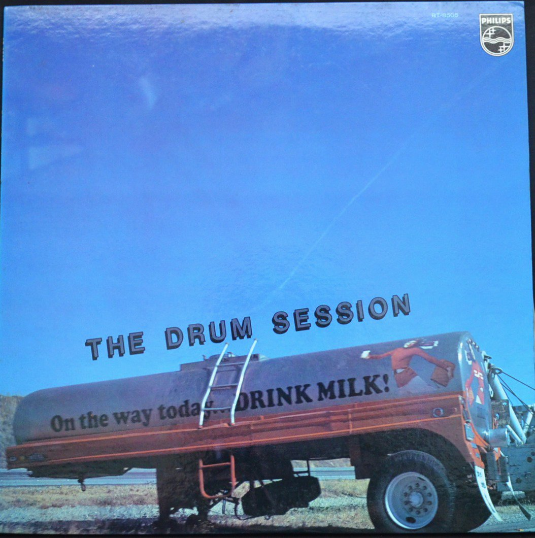 V.A.(LOUIS BELLSON,SHELLY MANNE,WILLIE BOBO,PAUL HUMPHREY...) / ザ・ドラム・セッション THE DRUM SESSION (LP)