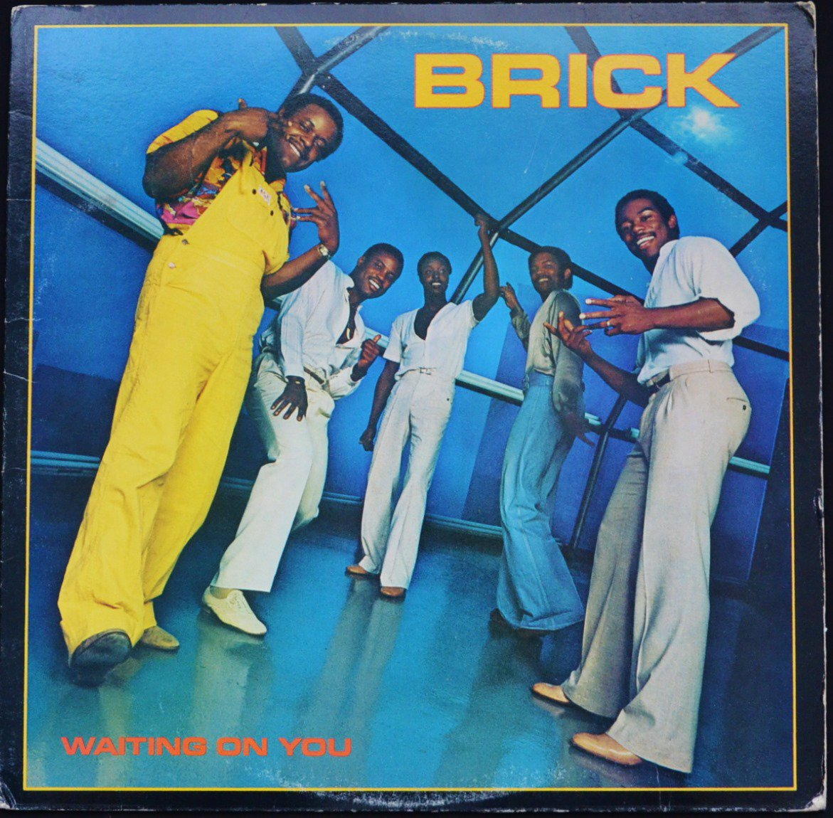 BRICK ‎/ WAITING ON YOU (LP)