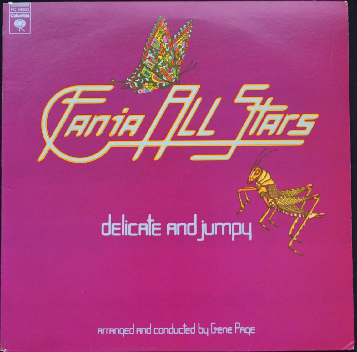 FANIA ALL STARS ‎/ DELICATE & JUMPY (LP)