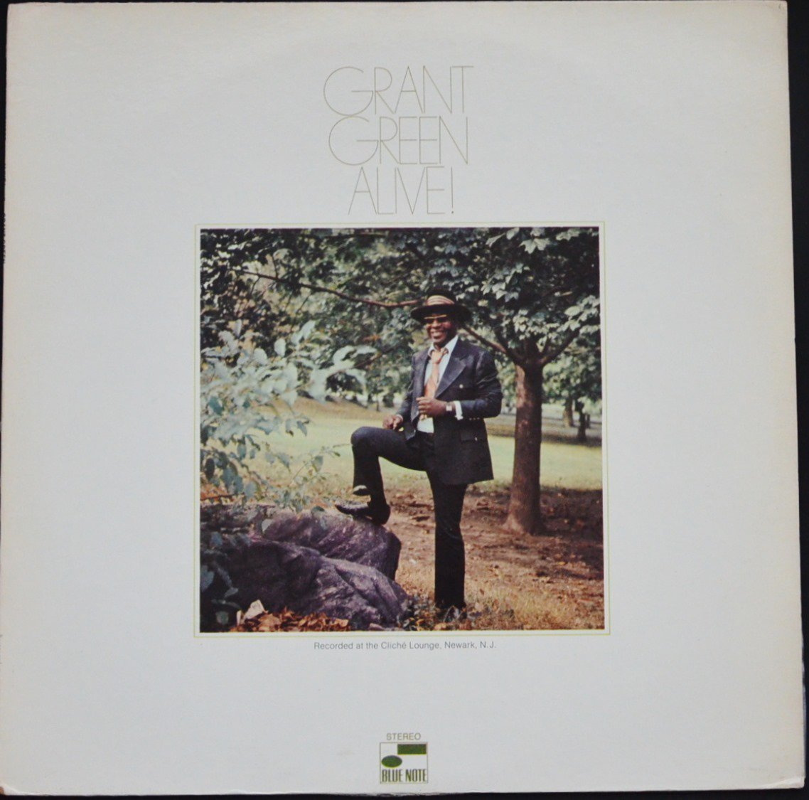 GRANT GREEN / ALIVE! (LP)