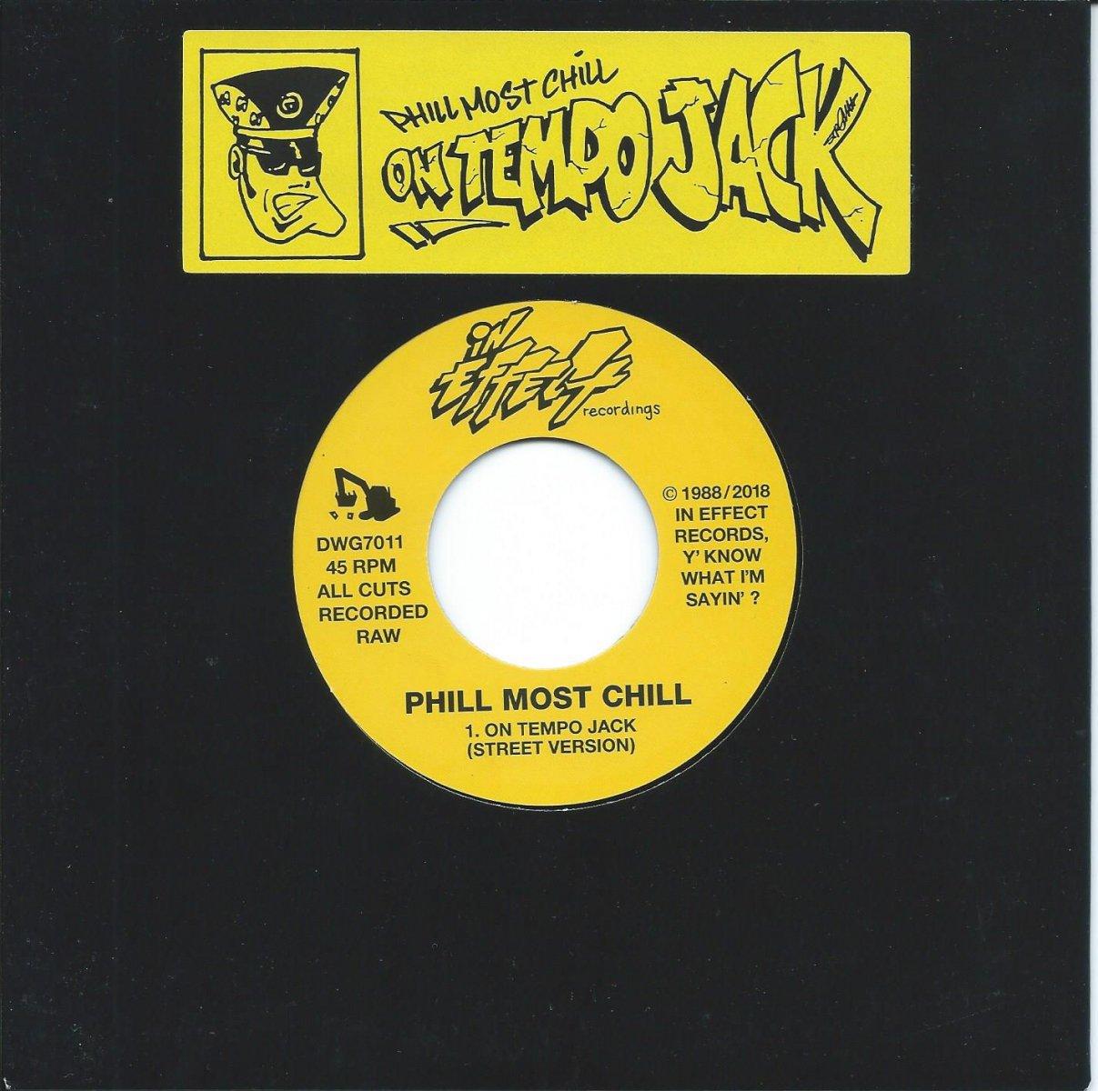 PHILL MOST CHILL ‎/ ON TEMPO JACK / OUT TO KILL (7