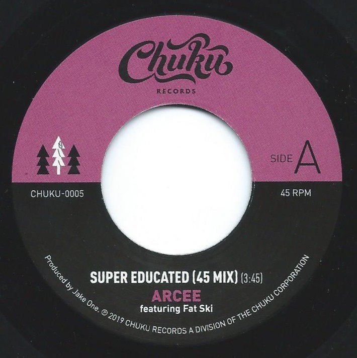 ARCEE FEAT.FAT SKI / SUPER EDUCATED - 45 MIX (PROD BY JAKE ONE) (7