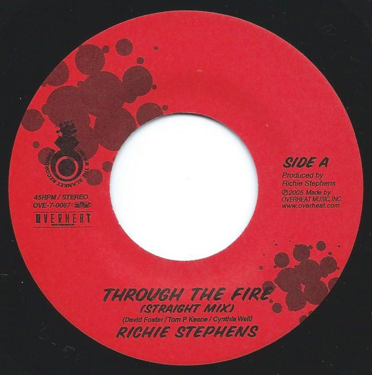 RICHIE STEPHENS / L.U.S.T. / THROUGH THE FIRE / FOR YOUR LOVE (7