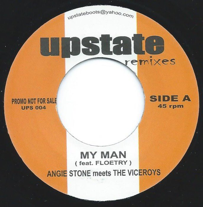 JIGSY KING & ANGIE STONE MEETS THE VICEROYS / MY MAN / GIVE ME THE WEED (7