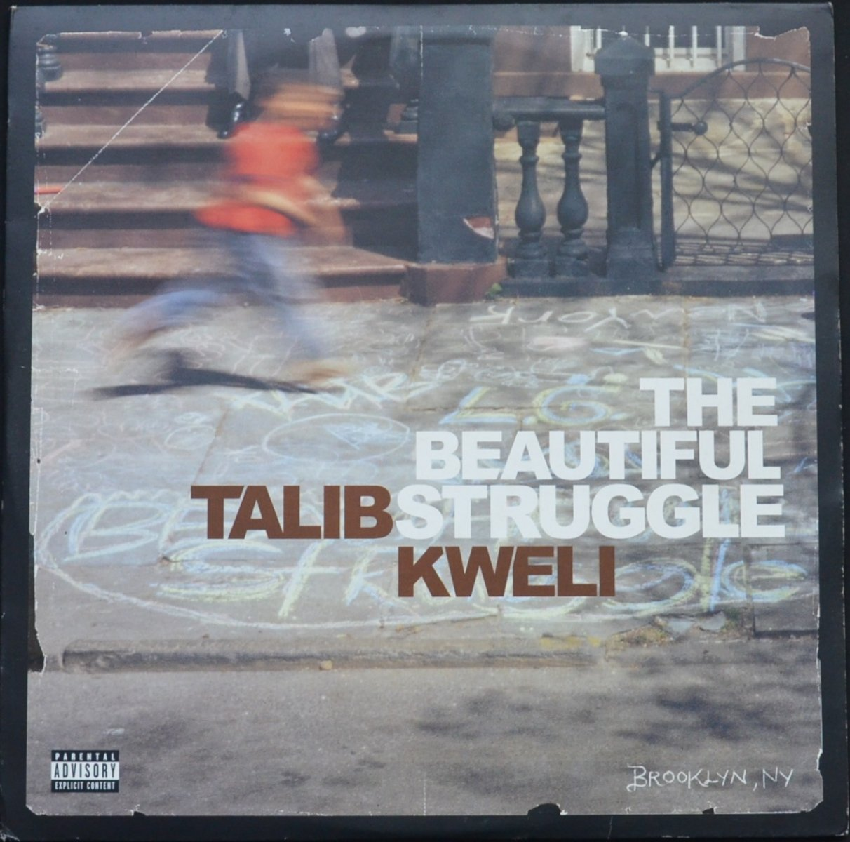 TALIB KWELI / THE BEAUTIFUL STRUGGLE (2LP)
