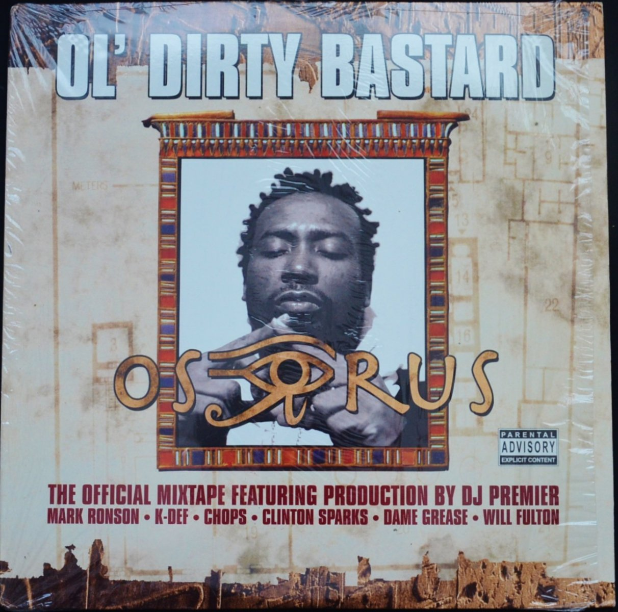 OL' DIRTY BASTARD ‎/ OSIRUS (THE OFFICIAL MIXTAPE) (2LP)