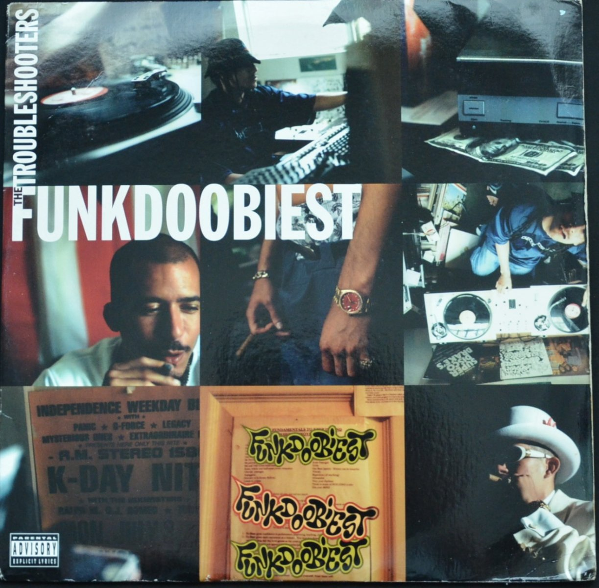 FUNKDOOBIEST ‎/ THE TROUBLESHOOTERS (2LP)