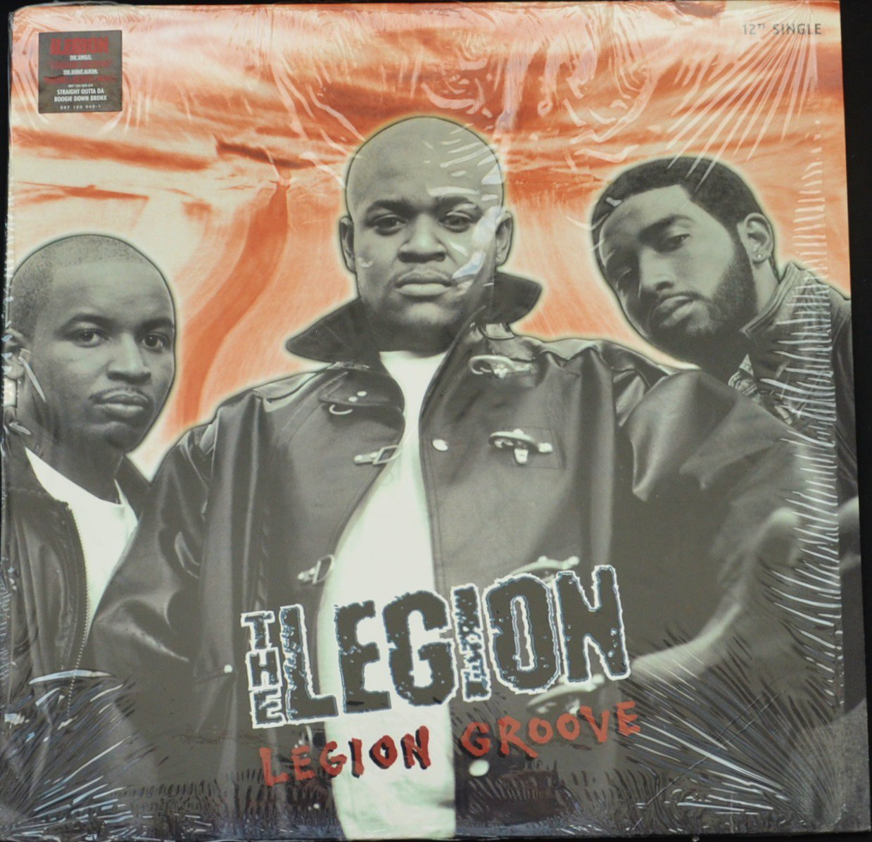 THE LEGION / LEGION GROOVE / BACK IN THE DAYS / IT'S THOROUGH (12
