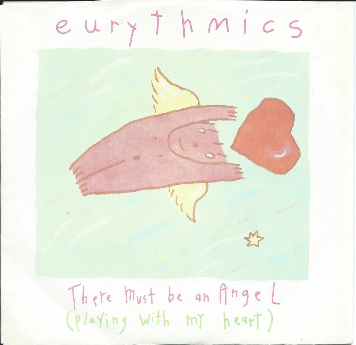 EURYTHMICS / THERE MUST BE AN ANGEL (PLAYING WITH MY HEART) (7