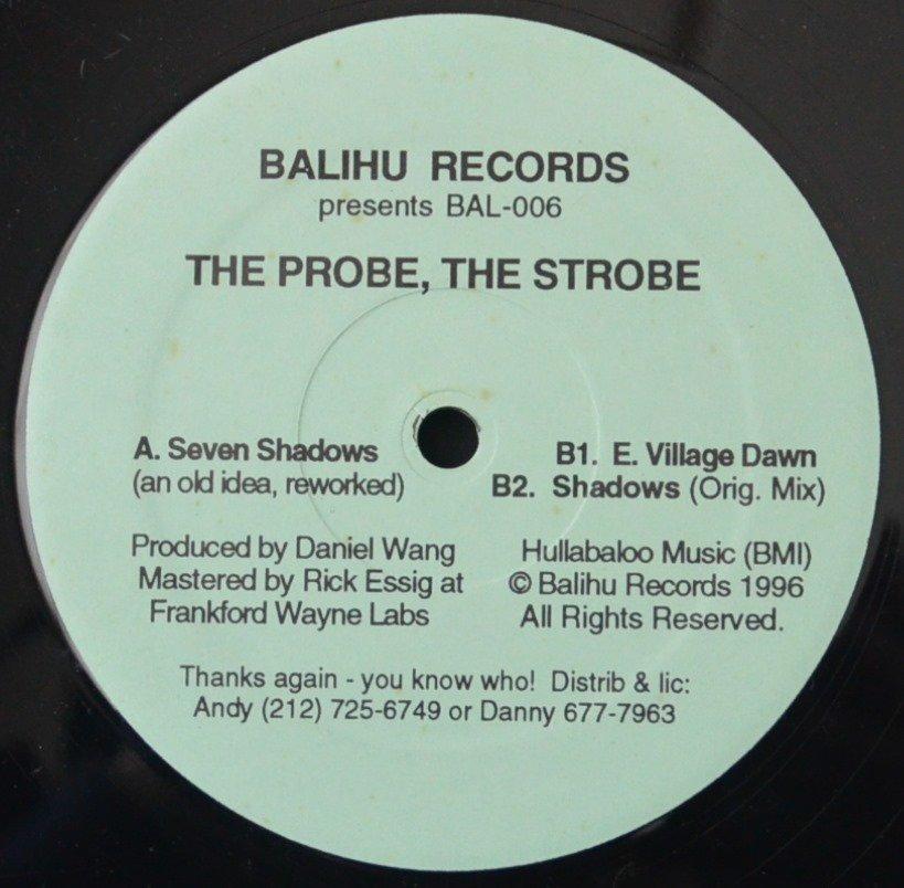 DANIEL WANG / THE PROBE,THE STROBE (12