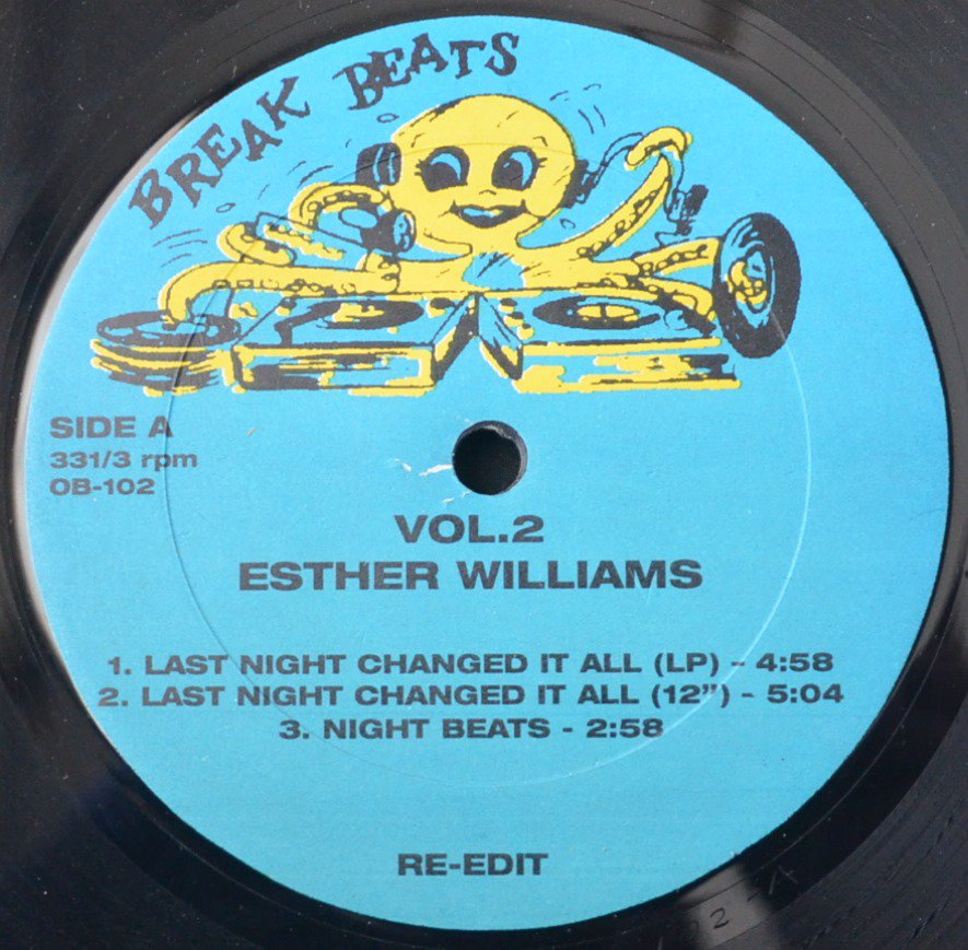 ESTHER WILLIAMS / DINOSAUR L / LAST NIGHT CHANGED IT ALL / GO BANG (12