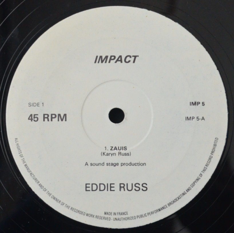EDDIE RUSS ‎/ ZAUIS / SEE THE LIGHT / TEA LEAVES (12
