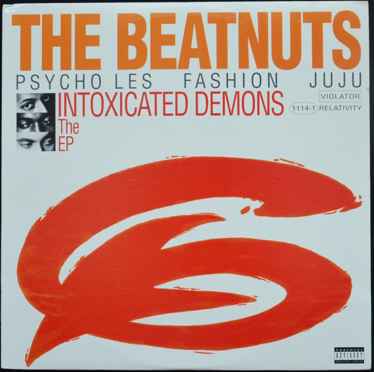 THE BEATNUTS / INTOXICATED DEMONS THE EP (12