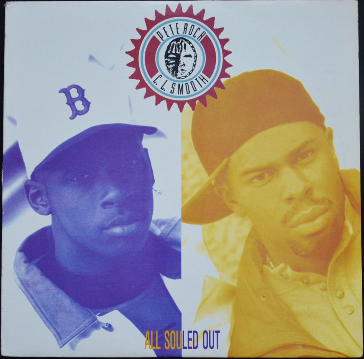 PETE ROCK & C.L. SMOOTH / ALL SOULED OUT (12