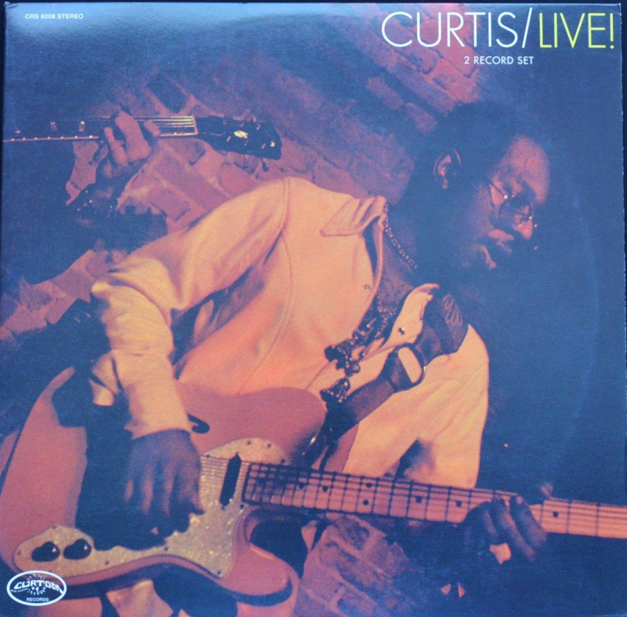 CURTIS MAYFIELD / CURTIS / LIVE! (2LP)