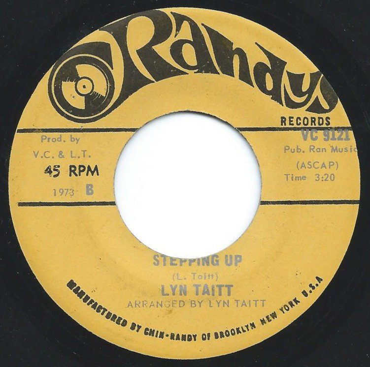 LYN TAITT / OUT ON A FUNKY TRIP / STEPPING UP (7