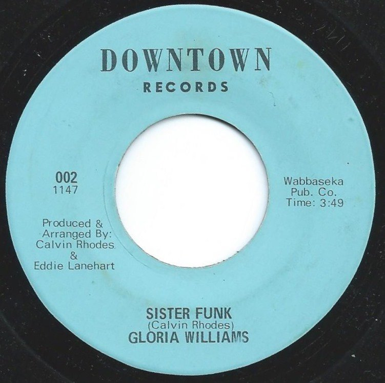 GLORIA WILLIAMS / SISTER FUNK / A WOMAN ONLY HUMAN (7