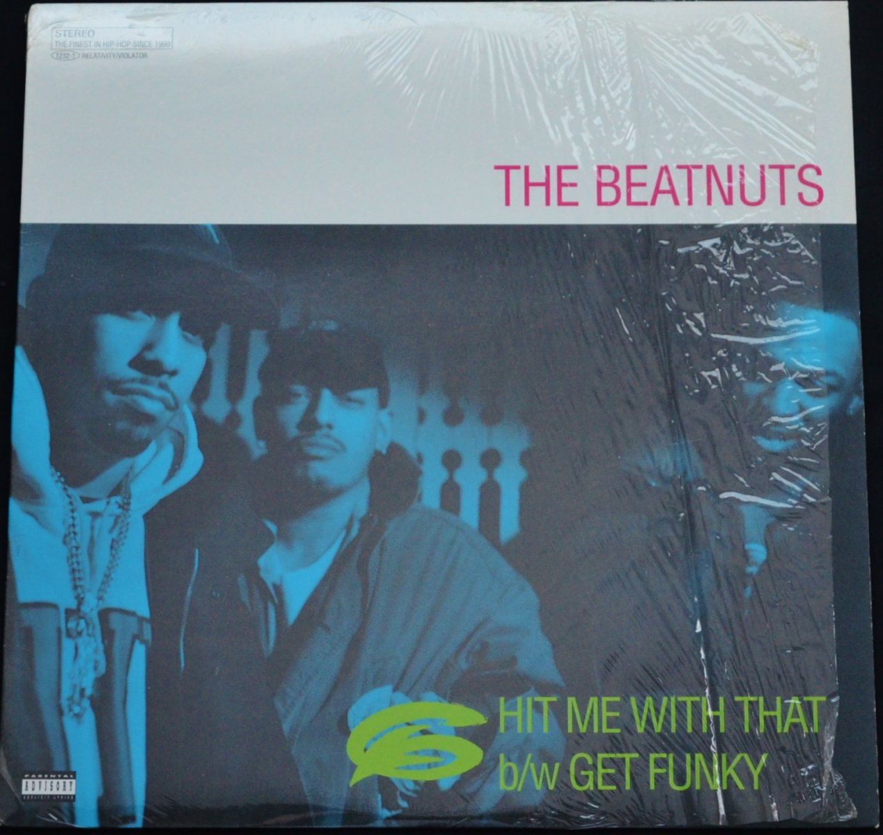 THE BEATNUTS / HIT ME WITH THAT / GET FUNKY (12