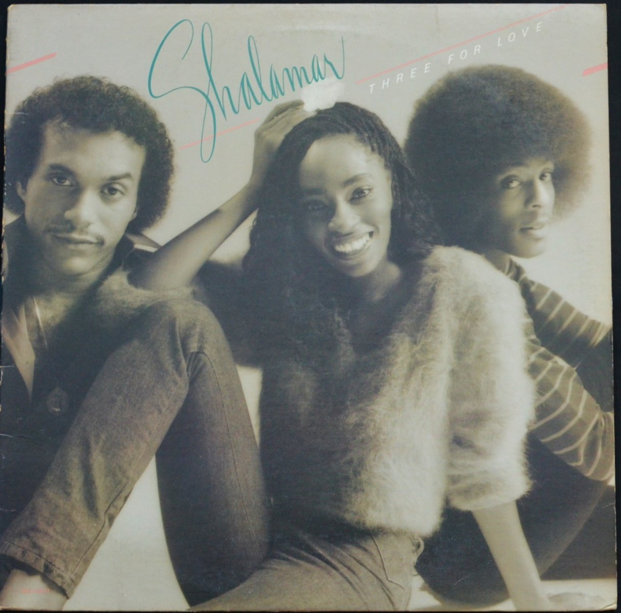 SHALAMAR / THREE FOR LOVE (LP)