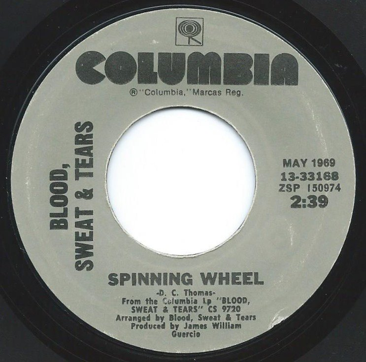 BLOOD, SWEAT & TEARS / SPINNING WHEEL / YOU'VE MADE ME SO VERY HAPPY (7