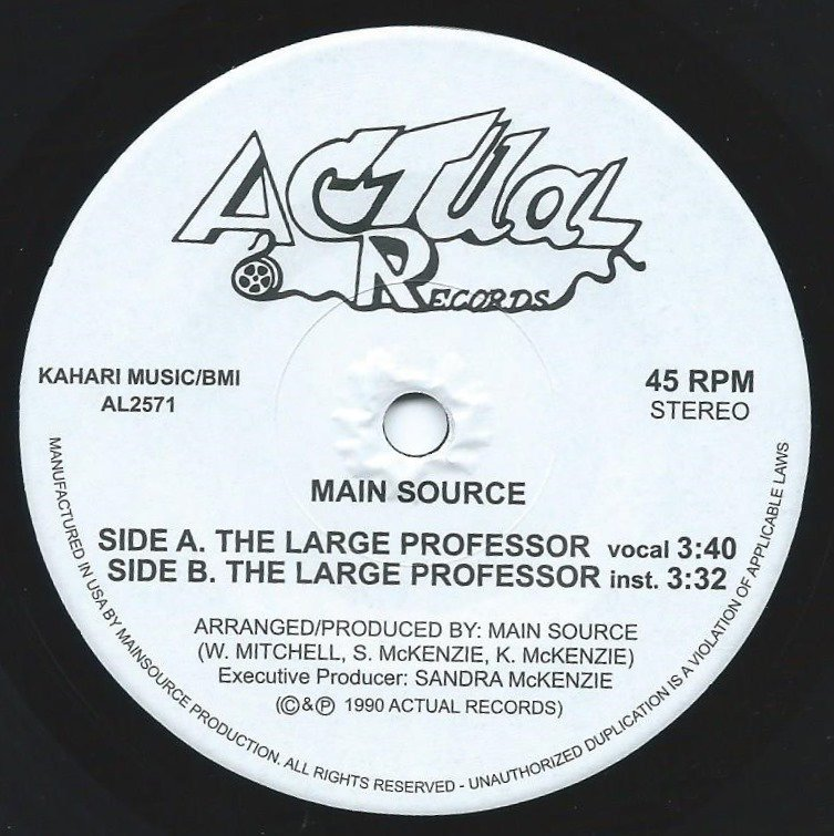 MAIN SOURCE ‎/ THE LARGE PROFESSOR (7