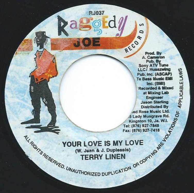 TERRY LINEN ‎/ YOUR LOVE IS MY LOVE (7